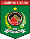 Official seal of North Lombok Regency