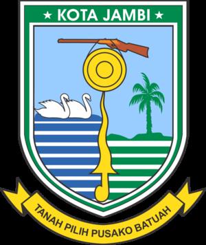 Jambi City - Image: Lambang Kota Jambi