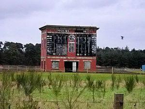 Lanark Silver Bell - The disused Lanark Racecourse in 2006.
