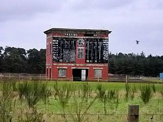 Lanark Silver Bell - The disused Lanark Racecourse in 2006.