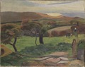 Landscape from Bretagne (Paul Gauguin) - Nationalmuseum - 19216.tif