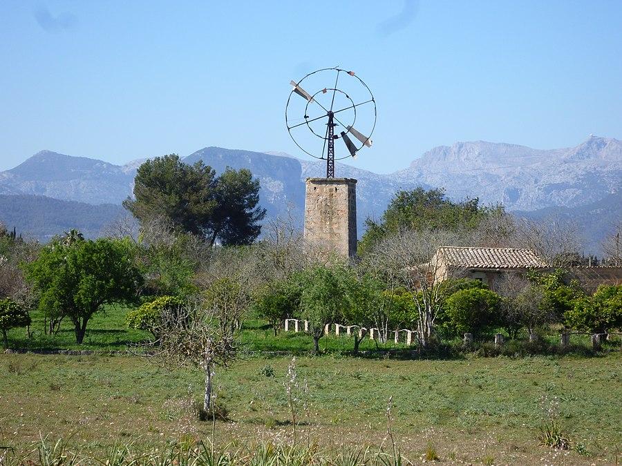 Landschaft um Sencelles