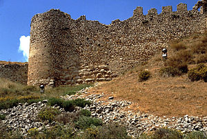 Geoffrey I of Villehardouin - The medieval castle on Larissa Hill in Argos
