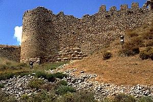 Geoffrey I of Villehardouin - The medieval castle on Larissa Hill in Argos