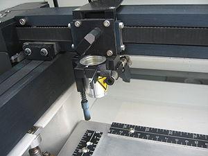 Laser engraving - A laser engraver