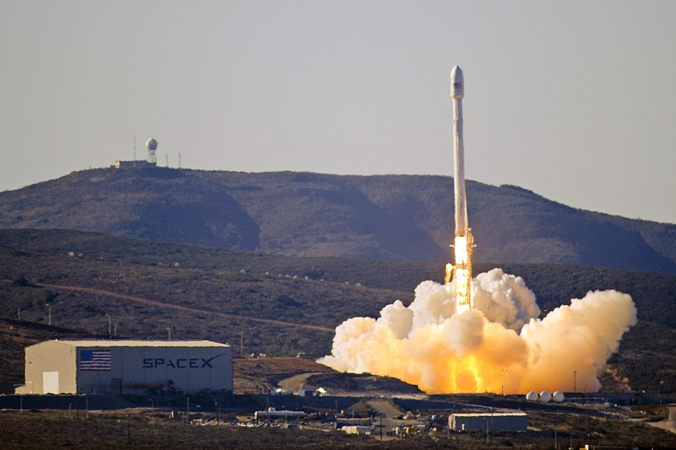 Launch of Falcon 9 carrying CASSIOPE (130929-F-ET475-012)