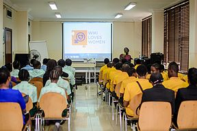 Launching of Wiki Loves Womenat Goethe Institute, Lagos ,Nigeria 15.jpg