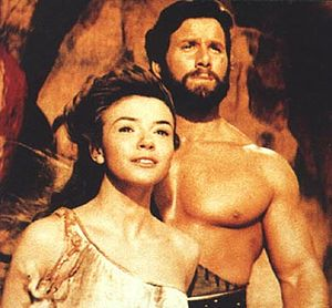 Reg Park - Laura Efrikian and Reg Park in Hercules and the Conquest of Atlantis