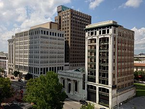 Downtown Jacksonville - Corner of Laura and Forsyth Streets located in the Northbank Core