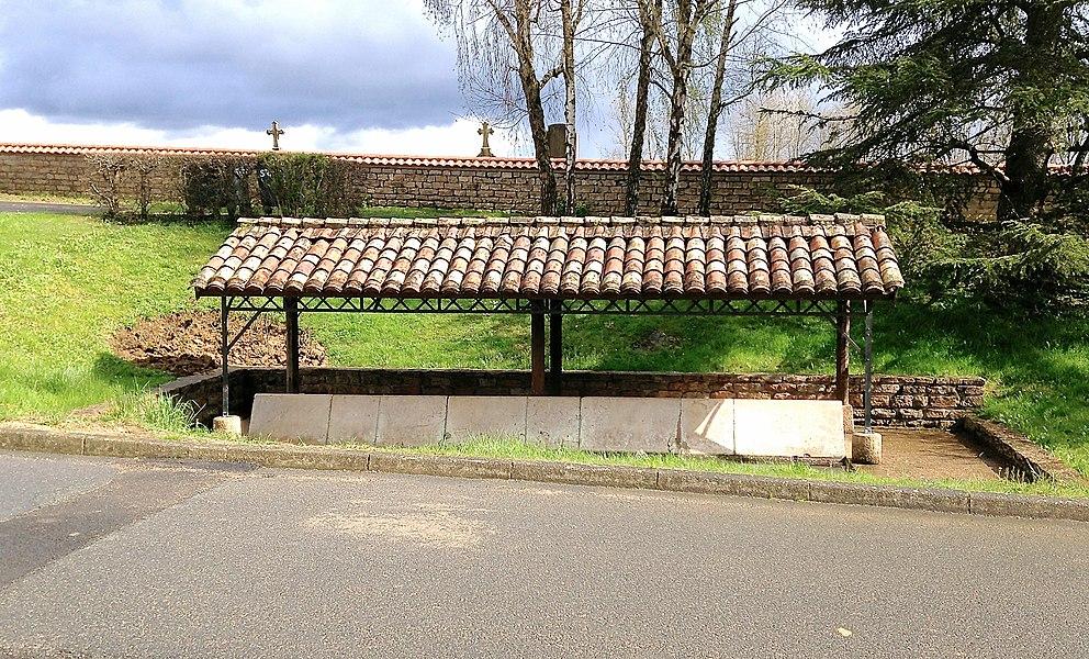 Le lavoir du village de Saint-Cyr-sur-Menthon