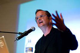 "Lawrence Lessig, author of ""Free Culture"""