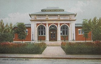 Ernest Flagg - Lawrence Library, 1901