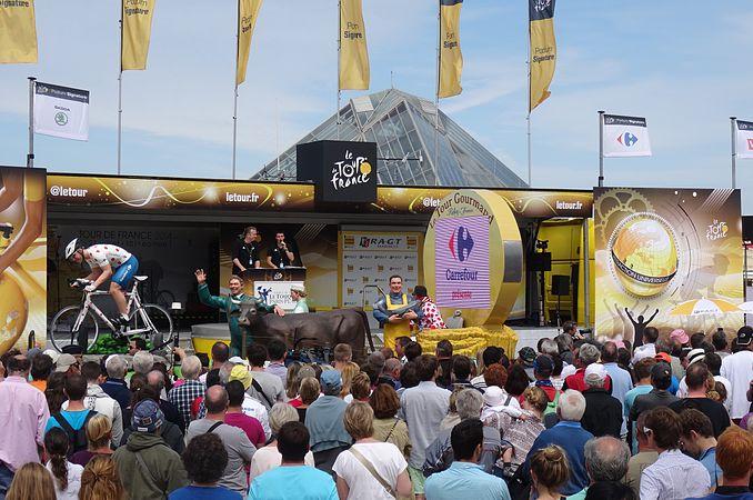 Le Touquet-Paris-Plage - Tour de France, étape 4, 8 juillet 2014, départ (A30).JPG