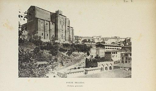 Fonti di Fontebranda - sotto la Basilica di San Domenico