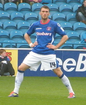 Lee Miller (footballer) - Lee Miller playing for Carlisle United