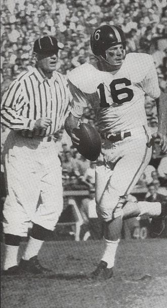 Len Dawson - Dawson versus Wisconsin, 1956