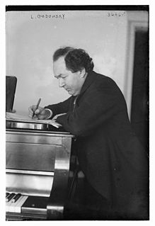Leopold Godowsky Polish American pianist, composer, and teacher