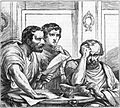 Lepidus, Antony and Octavian in Shakespeare's Julius Caesar.jpg