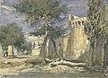 Les remparts d'Avignon Antoine-Alphonse Montfort (1808-1884).jpg