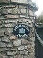 Leslie Castle gatepost - geograph.org.uk - 258650.jpg