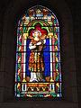 Lesperon (Landes) église, vitrail 02.JPG