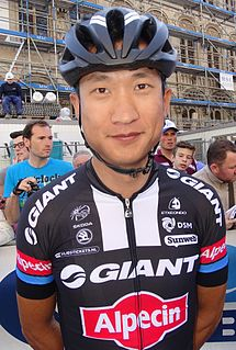 Ji Cheng (cyclist) Chinese cyclist