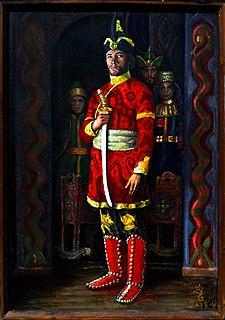 Levedi Voivode of the Hungarians