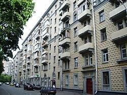 Улица левитана москва