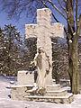 Lewis Brown monument, Allegheny Cemetery, 2015-01-28, 02.jpg