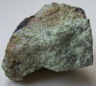 Lherzolite - Lherzolite from Eifel, Germany