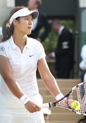 2014 WTA Tour - Image: Li Na Wimbledon 2013