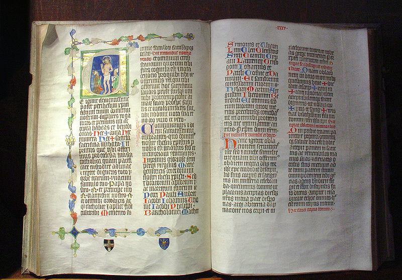 Fichier:Liber pontificalis - Albert de Sternberg.jpg