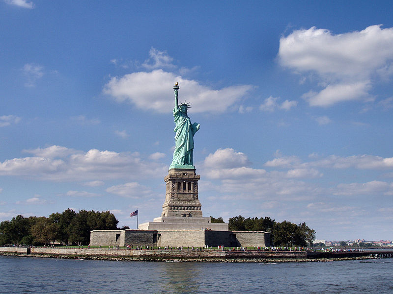 photograph: Statue of Liberty