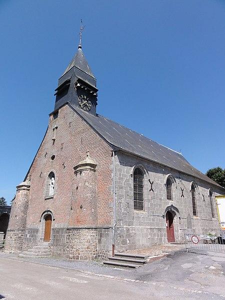 Liessies (Nord, Fr) église