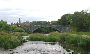 Lucan Bridge - River Liffey and Lucan Bridge