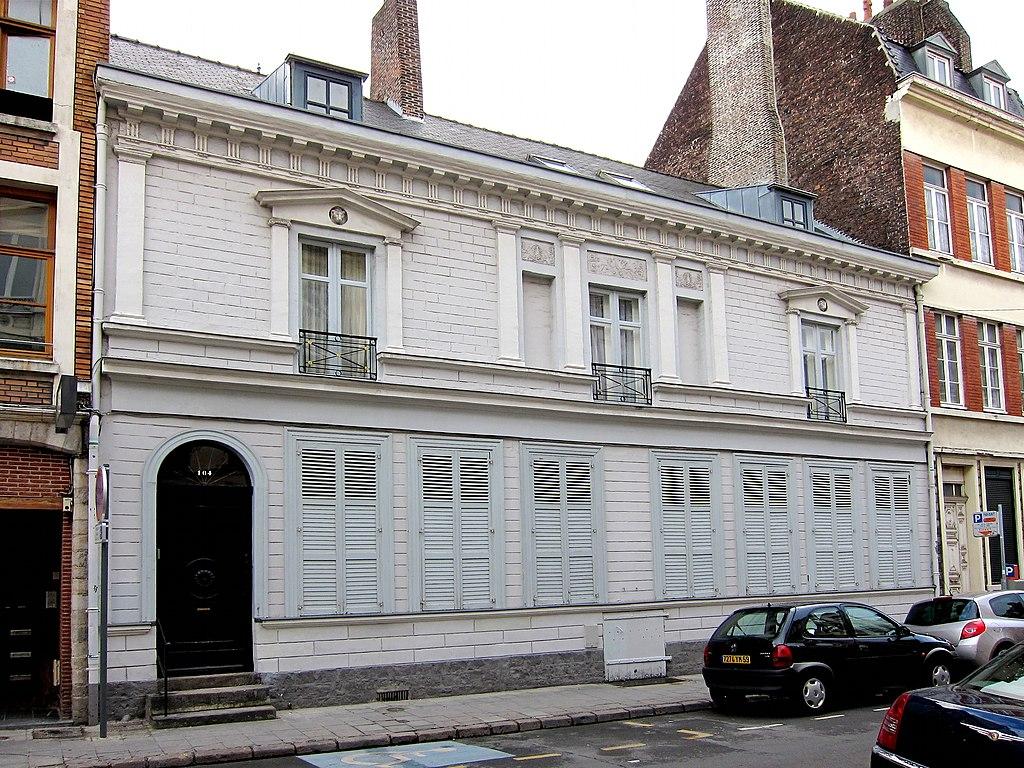 File lille 104 rue de l 39 hopital militaire jpg wikimedia commons - Hopital laennec rue de sevres ...