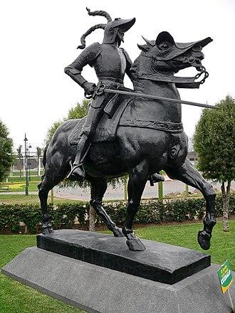 Francisco Pizarro - Pizarro's Statue in Lima, Peru