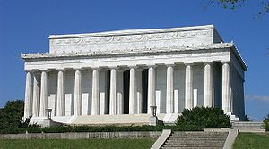 The Lincoln Memorial is a national memorial on...