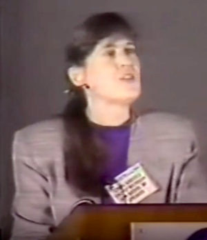 Linda Abriola - Dr. Linda Abriola at the 1996 Henry Darcy Lecture Series