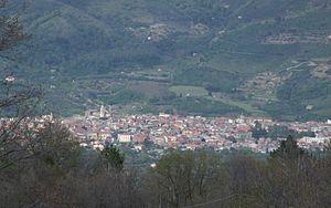 Linguaglossa - Image: Linguaglossa Etna Volcano Sicily Italy Creative Commons by gnuckx
