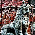Lion Guardian at Kathmandu Durbar Square.jpg