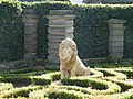 Lion Statue near Chollerford - 1 - geograph.org.uk - 1012499.jpg