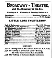 Little Lord Fauntleroy Broadway Theatre The Theatre Dec 8 1888 p503.png