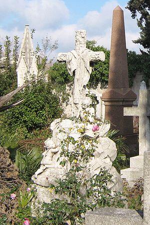 Seymour Kirkup - Grave of Seymour Stocker in Livorno