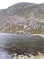 Llyn Du and Rhinog Fawr - geograph.org.uk - 1621843.jpg