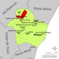 Localització d'Alfara d'Algimia respecte del Camp de Morvedre.png