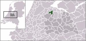 Baambrugge - Image: Locatie Abcoude