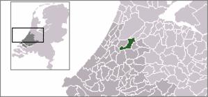 Jacobswoude - Image: Locatie Jacobswoude