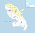Locator map of Arrondissement La Trinité 2018.png