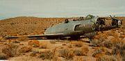 Lockheed XF-90 (46-688) in Yucca Flat